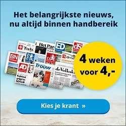 krant aanbiedingen