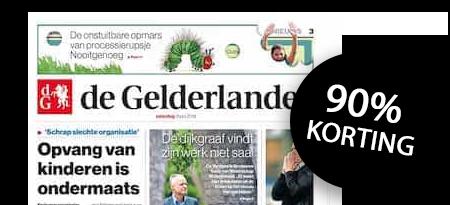 bestekrant-gelderlander-aanbieding
